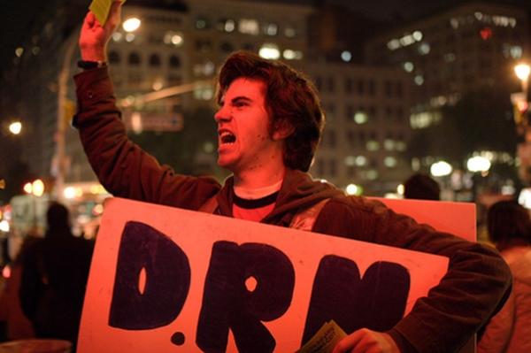 Protesto - DRM (Fonte: Tom's Hardware)