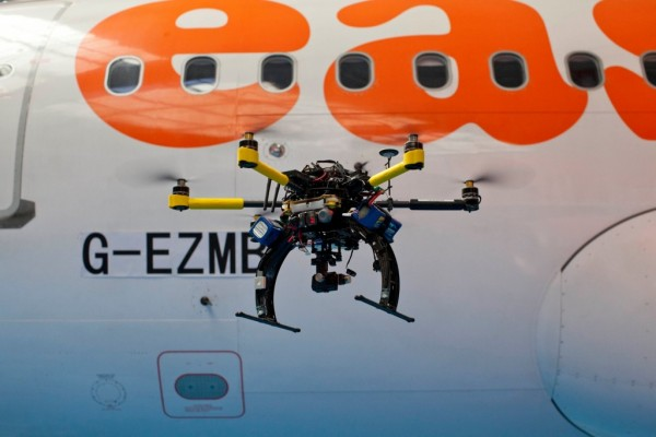 Drone na EasyJet