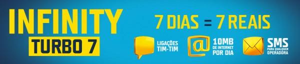 TIM lança Infinity Turbo 7, pacote pré-pago com pagamento semanal – Tecnoblog