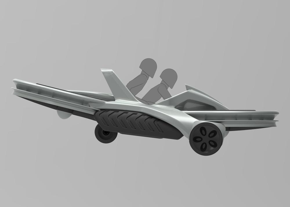 Já dá para reservar sua Aero-X, moto voadora que será lançada em 2017 – Tecnoblog