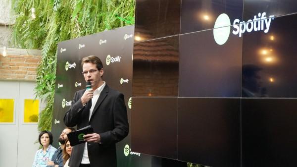 Gustavo Diament, chefão do Spotify na América Latina