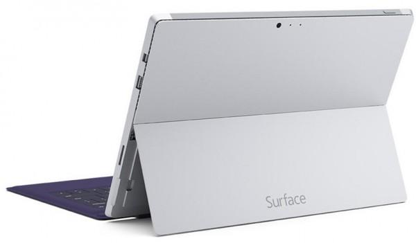 Surface Pro 3 - traseira