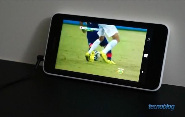 Nenhum canal funcionou com boa definição no Lumia 630