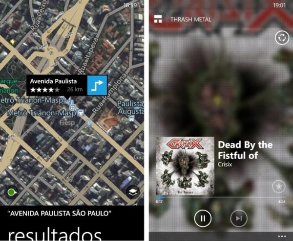 HERE Maps e MixRadio