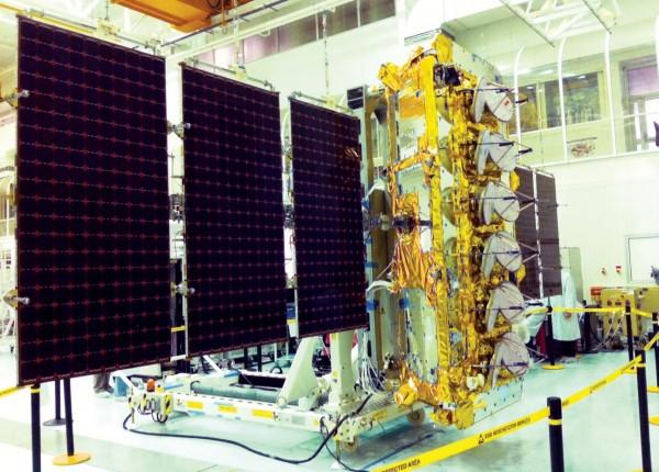 Um dos satélites da O3b
