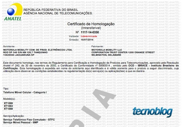 certificado-anatel-motorola