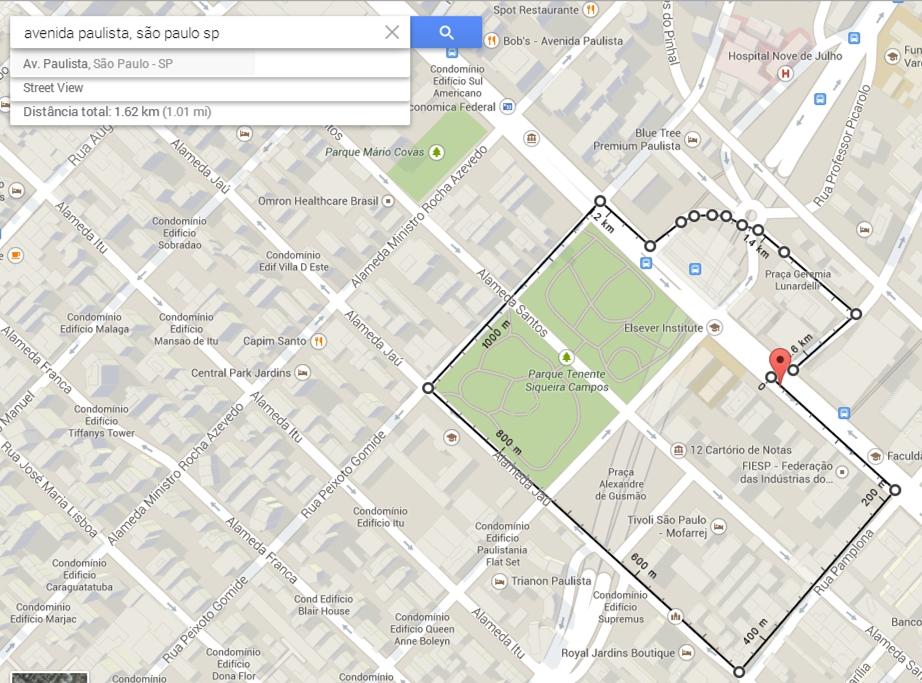 Agora voc pode medir distncias no google maps ligando pontos no medindo distncias no google maps reheart Images