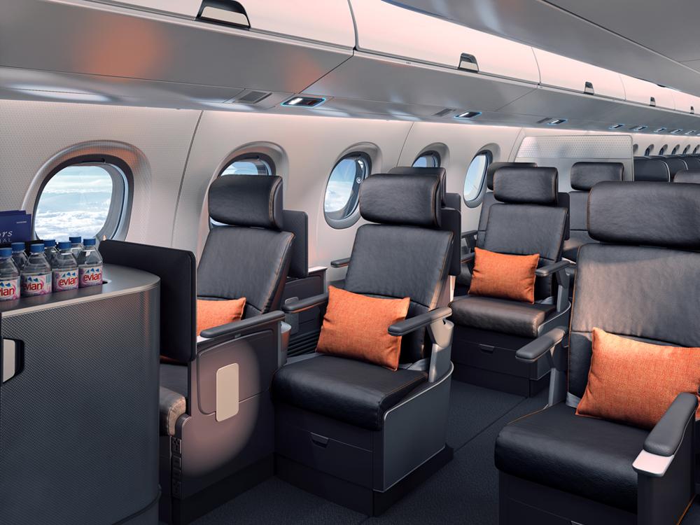 novos avi es da embraer querem resolver o problema da falta de espa o para sua bagagem de m o. Black Bedroom Furniture Sets. Home Design Ideas