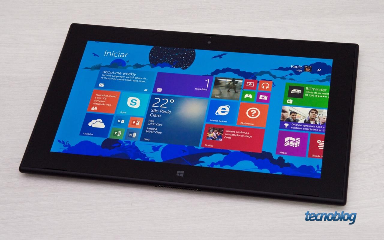 Review lumia 2520 o primeiro e ltimo tablet da nokia for O tablet price list 2014