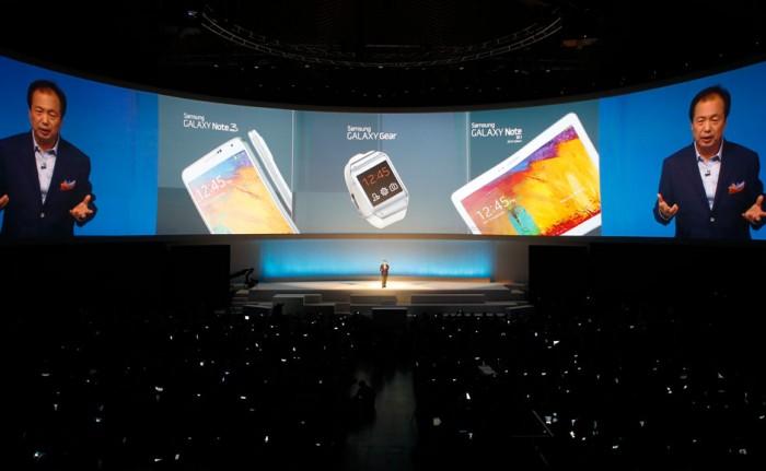 Na IFA do ano passado, teve Galaxy Note 3, Galaxy Gear e novo Galaxy Note 10.1