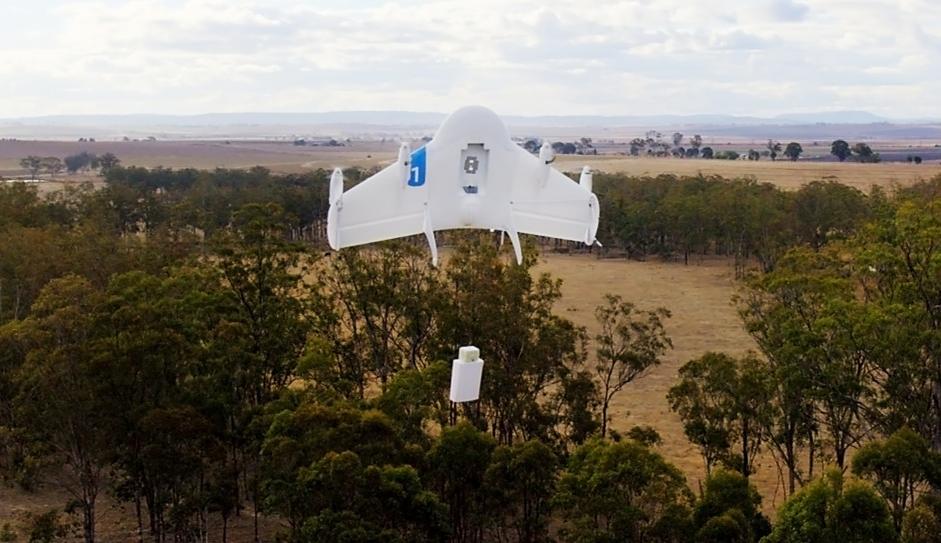 Este é o Project Wing, drone que o Google está desenvolvendo para fazer entregas - Tecnoblog