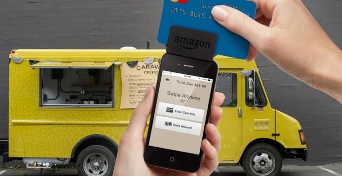 Leitor de cartões da Amazon