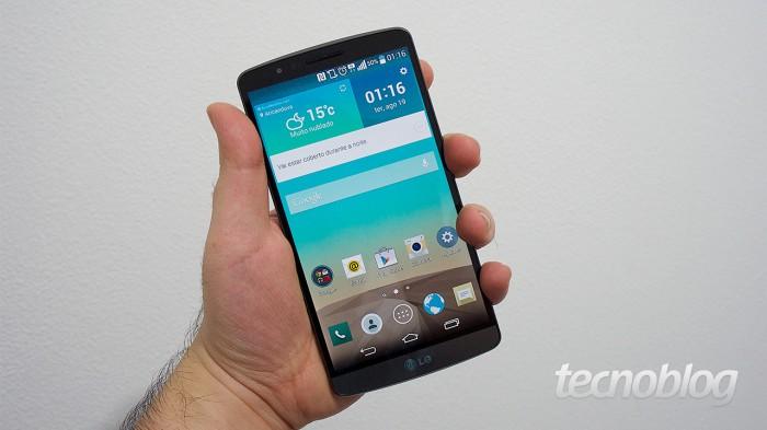 LG G3 (Imagem: Tecnoblog)