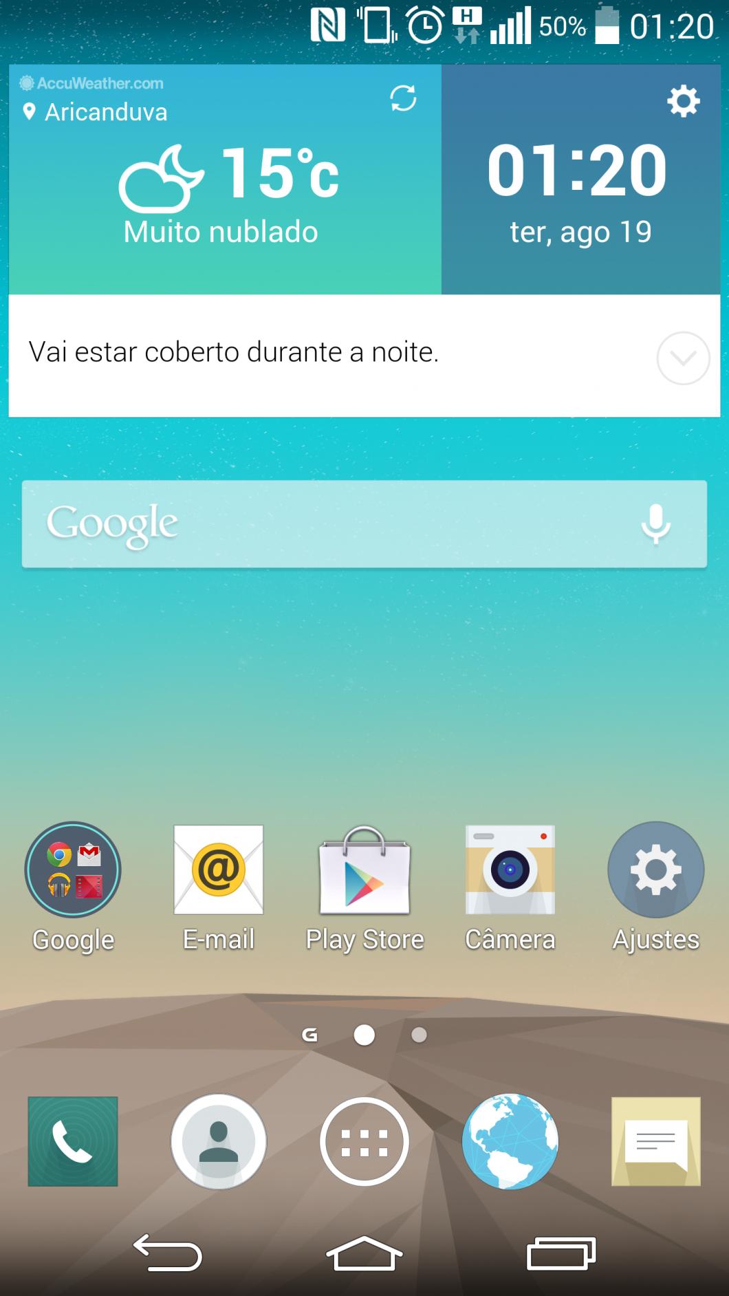 Não há espaço suficiente no layout para mostrar a screenshot em tamanho real