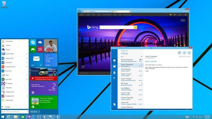 O retorno do Menu Iniciar deve ser uma das novidades do Windows 9