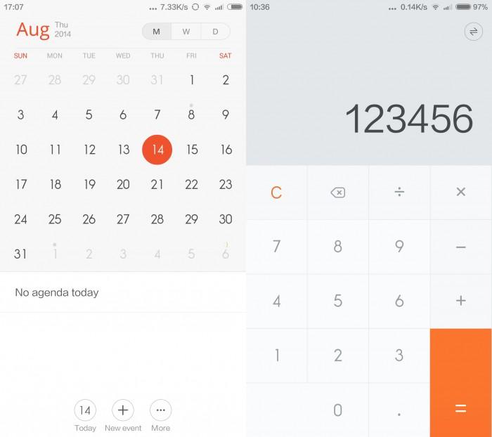 Esse calendário... Essa calculadora...