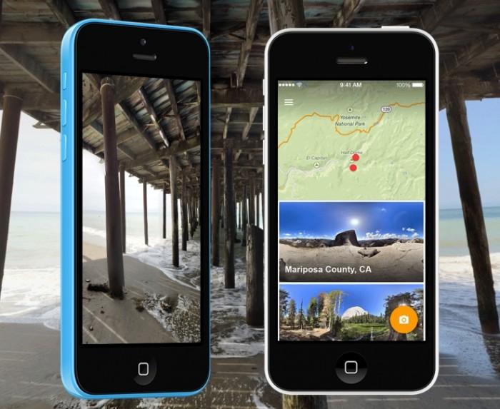 Photo Sphere para iOS