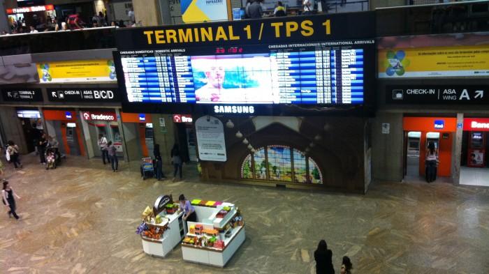Aeroporto Internacional de Guarulhos: o mais movimentado do país (Foto: Flickr/drigoteixeira)