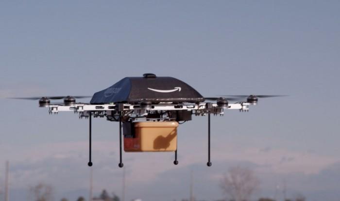 """O """"drone entregador"""" da Amazon"""