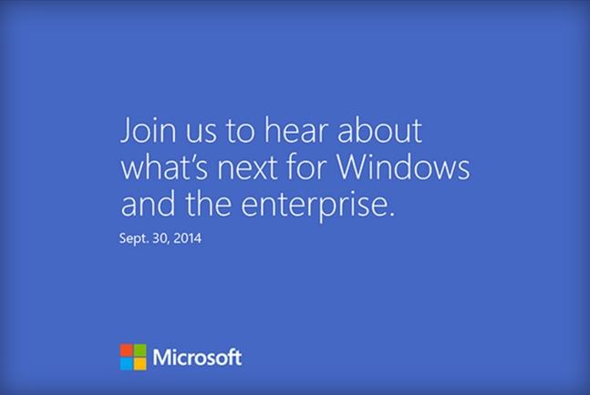Convite - Microsoft