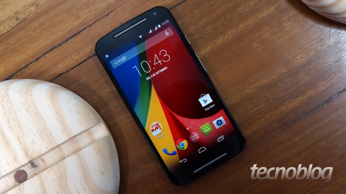 Moto G, o smartphone mais vendido do Brasil