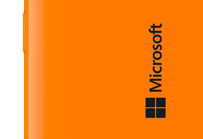 Microsoft Lumia - traseira