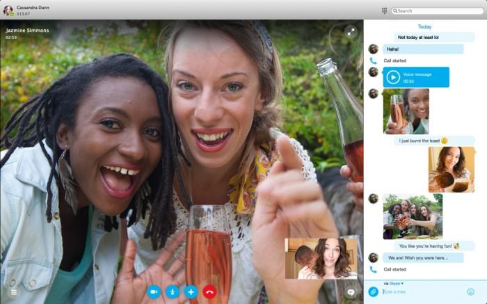 Skype 7 para Mac