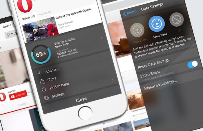 Novo Opera Mini para iPhone e iPad acelera o carregamento de vídeos - Tecnoblog