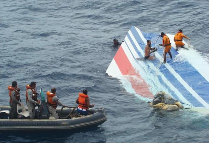 Destroços do voo AF-447 levaram quase dois anos para serem encontrados