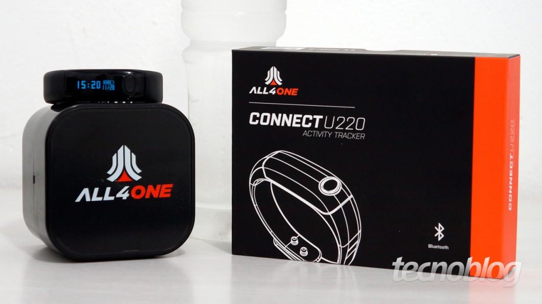 Review All4One Connect U220, a smartband da Netshoes [análise/vídeo] - Tecnoblog