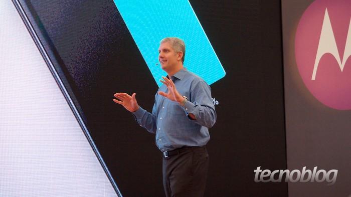 Rick Osterloh, presidente global da Motorola Mobility
