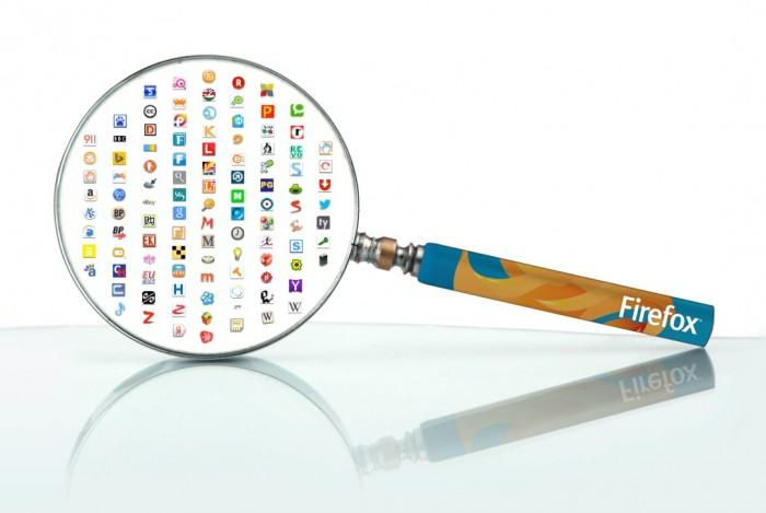 Mecanismos de busca no Firefox