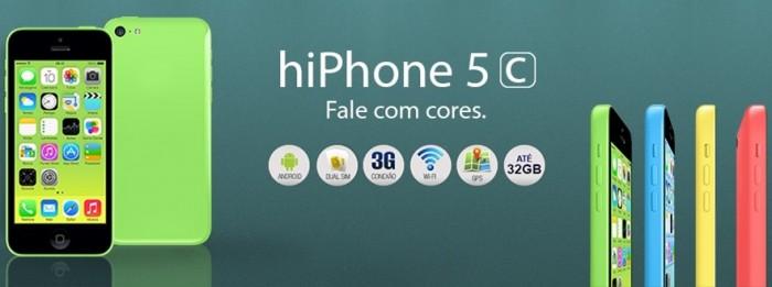 Você ainda pode ser dono de um legítimo HiPhone 5c
