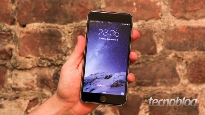 Leia o nosso review do iPhone 6 Plus.