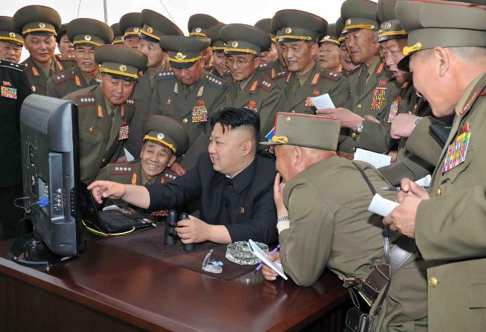 Kim conectado