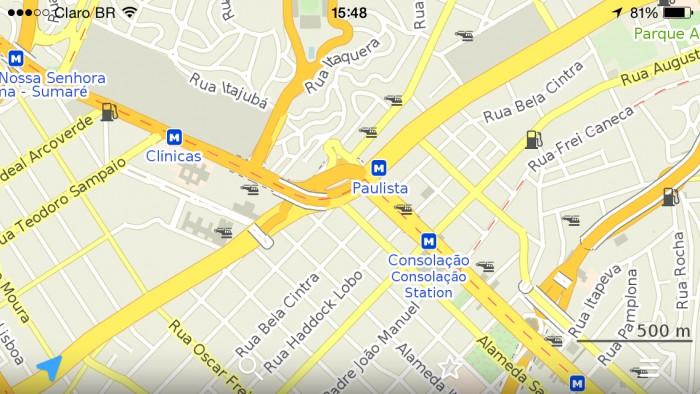 Maps pro oferece mapas offline de graa no android e iphone maps reheart Images