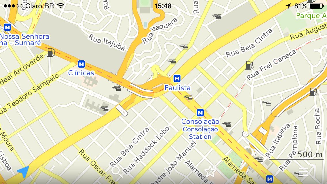 Maps.me Pro oferece mapas offline de graça no Android e iPhone – Tecnoblog