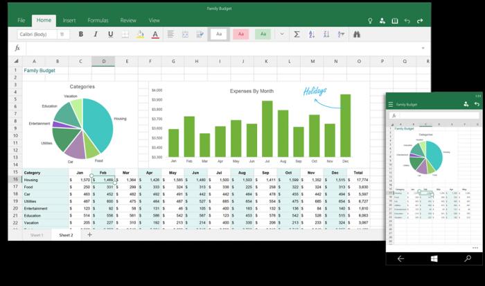 Excel - Windows 10