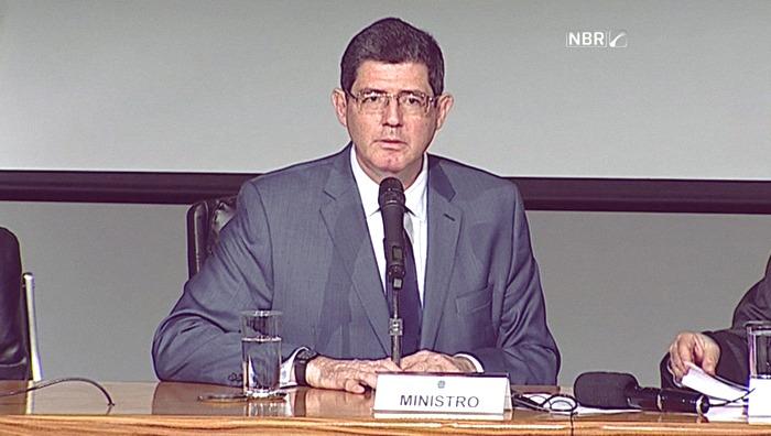Ministro da Fazenda Joaquim Levy