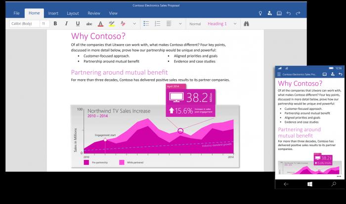 Word - Windows 10