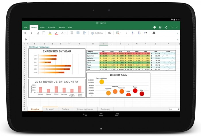 Excel para Android