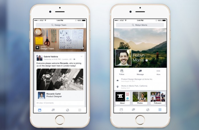 Facebook at Work - iOS