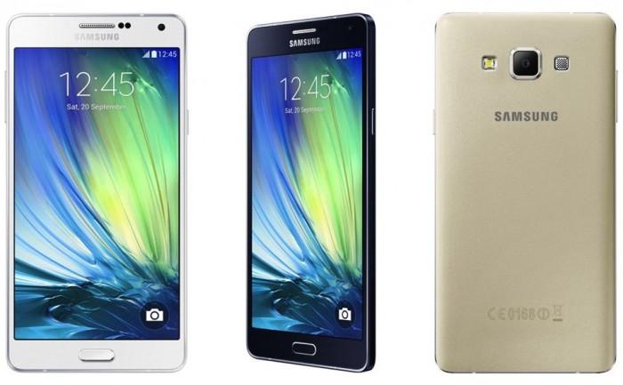 Galaxy A7 - Cores