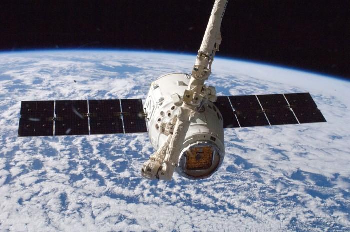 Satélite Dragon da SpaceX