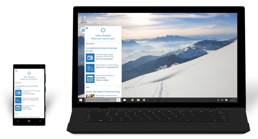 Windows 10 - Cortana