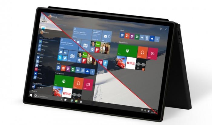 Windows 10 - Continuum