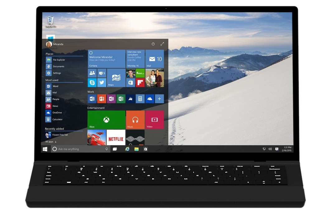 Windows 10 - Menu Iniciar