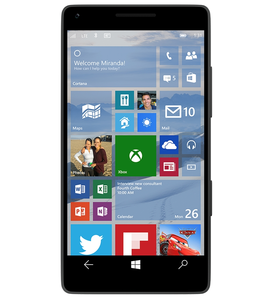 Windows 10 - smartphone