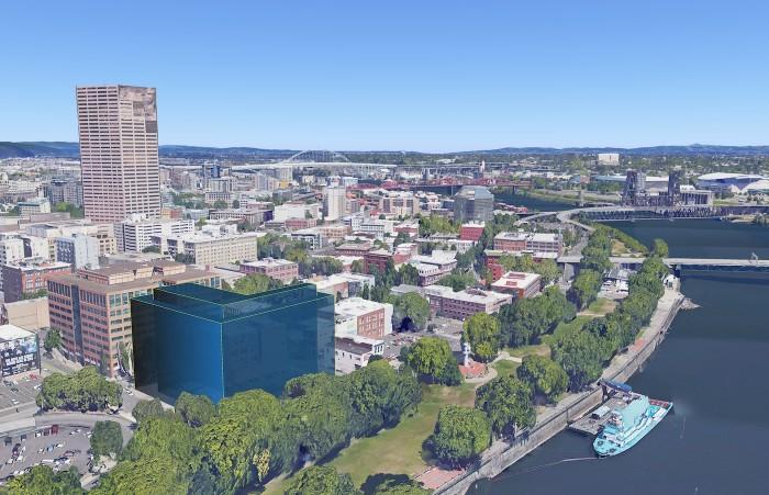 Imagem do Google Earth Pro