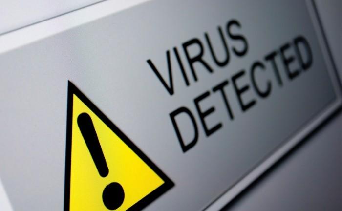 Vírus detectado